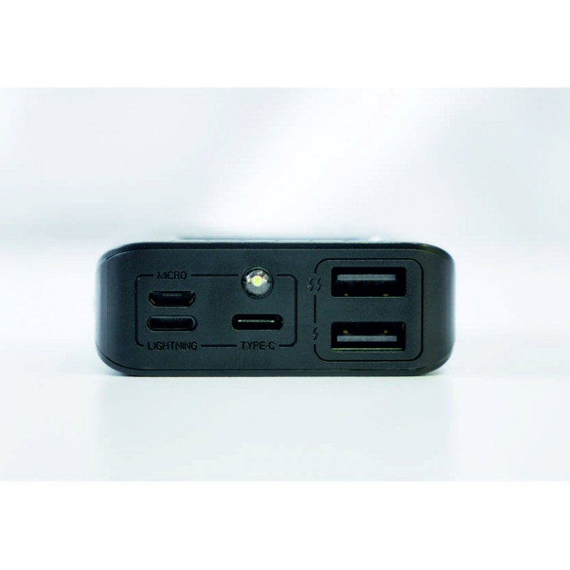 PHONEAKS 10000 mah Digital Ekranlı Powerbank + El Feneri