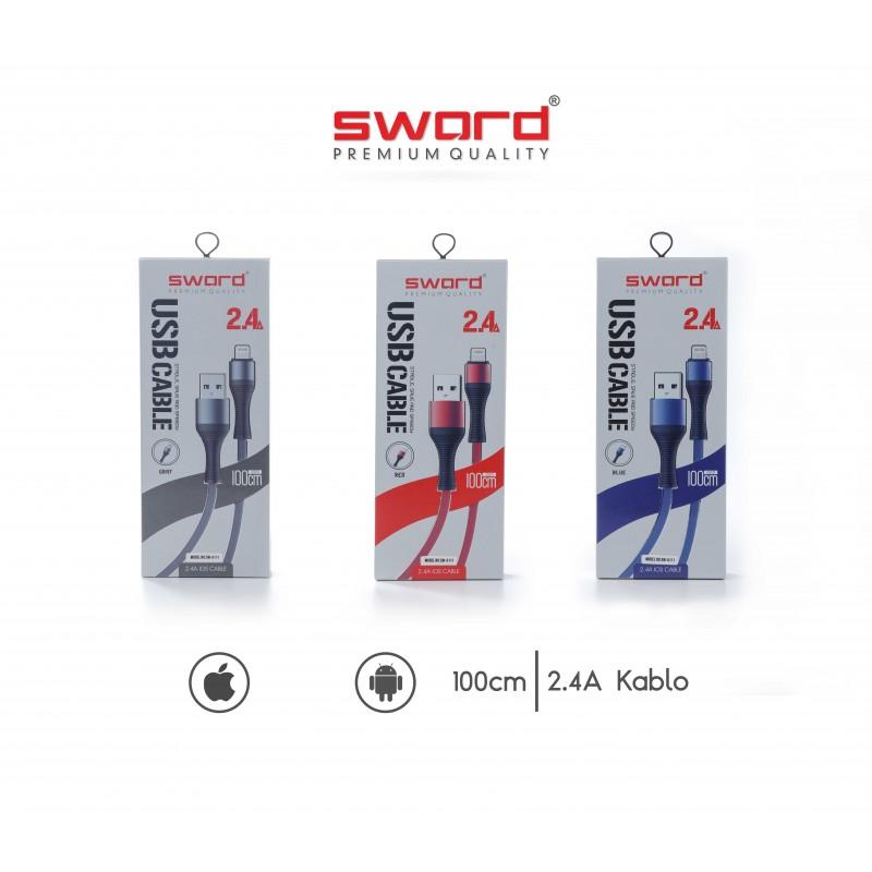 SWORD 2.4 Amper Micro USB Kablo