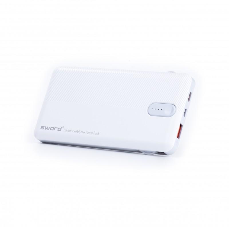SWORD 10000 mah Kendinden Kablolu Powerbank SW-10PO3
