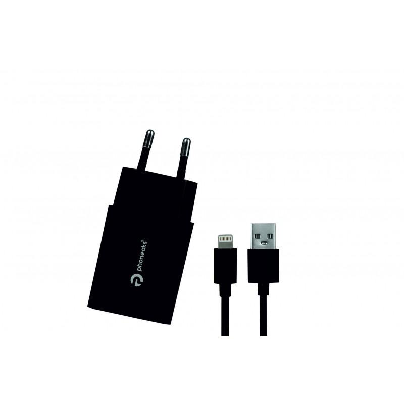 PHONEAKS Lightning USB 2.1 Amper Şarj Cihazı